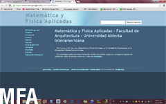 MFA | Matemática y Física Aplicadas